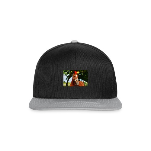 T-Shirt Pferd-Mit Hud - Snapback Cap