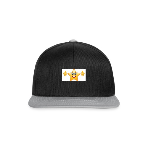 star-smiley-234 - Snapback Cap