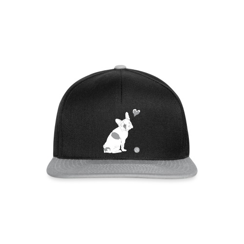 Bulldogge Emma in Love - Snapback Cap