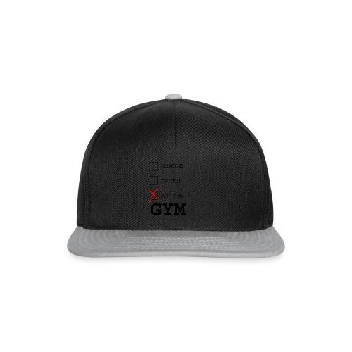 single taken gym - Snapback cap