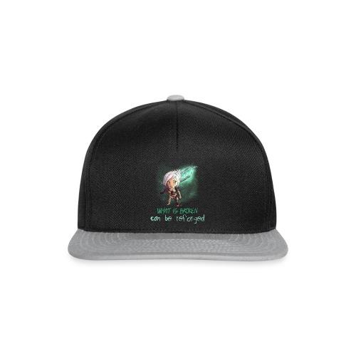 Chibi Riven con scritta DONNA - Snapback Cap