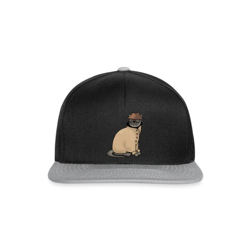 Secret cat - Snapback Cap