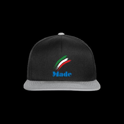 Italy Made - Snapback Cap