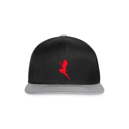 Duiveltje vrouw - Snapback cap