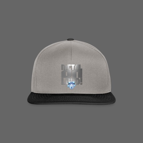 metalonloud large 4k png - Snapback Cap