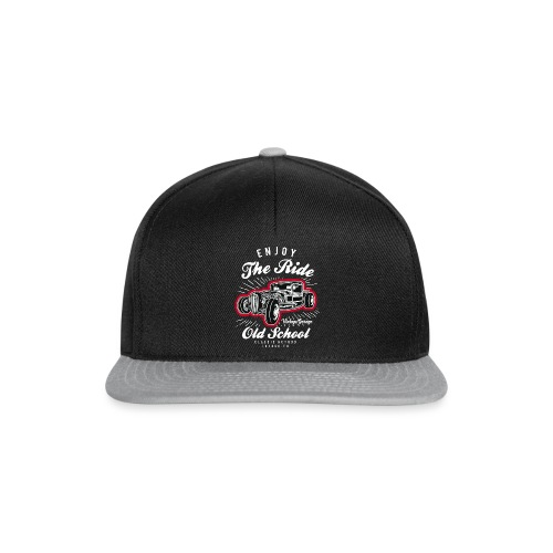 T-shirt Enjoy The Ride Hot Rod - Casquette snapback