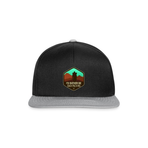 I'd Rather Be Backpacking - Snapback Cap