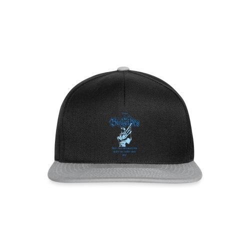 Bagpipes Player blau Dudelsack Spieler - Snapback Cap