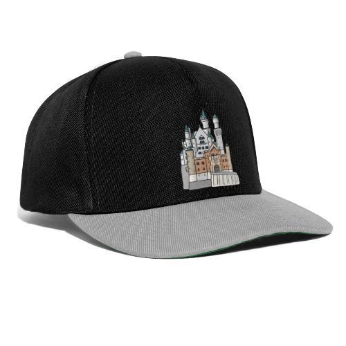 Schloss Neuschwanstein c - Snapback Cap