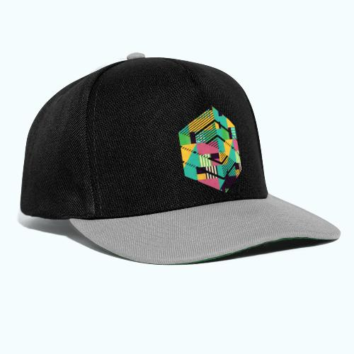 Geometric composition - Snapback Cap