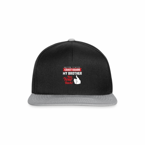 United States Coast Guard My Brother Has Your Back - Snapback Cap
