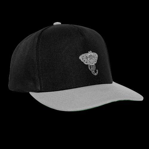 Henna elephant - Snapback Cap