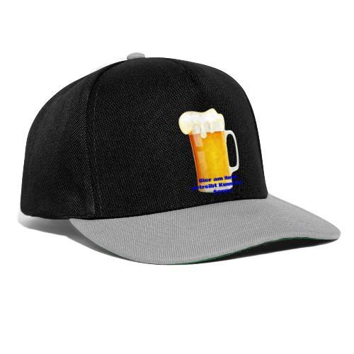 Bier am Morgen vetreibt Kummer und Sorgen Produkte - Snapback Cap