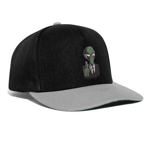 Alien in Black - Snapback Cap