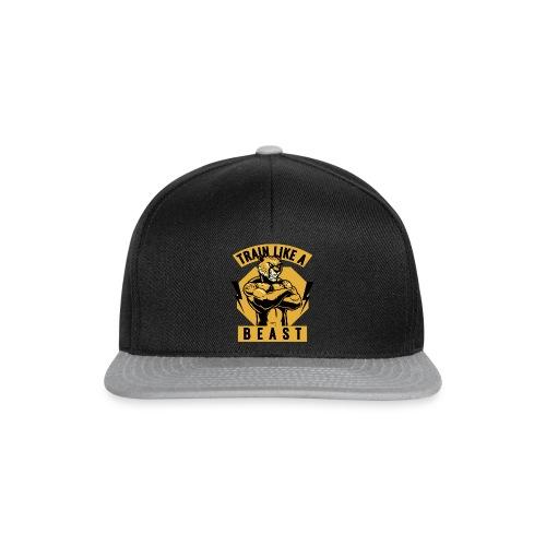 Train like a beast /Katzen-Tiger Design /Fitness - Snapback Cap