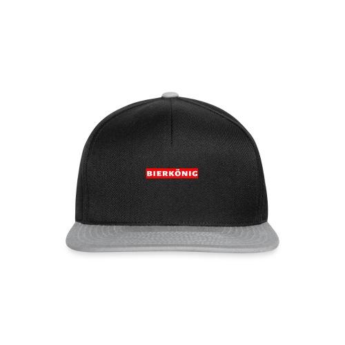 Bierkönig Trendy Design - Snapback Cap