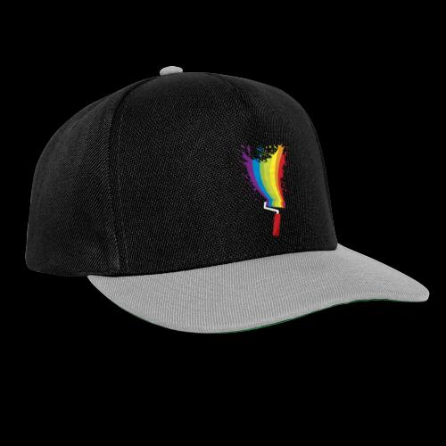 Paint roller Vivid Color - Snapback Cap