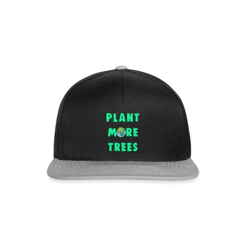 Plant More Trees Global Warming Climate Change - Snapback Cap