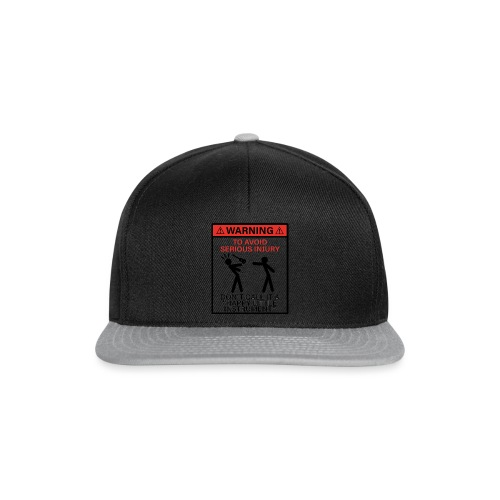 injury happy - Snapback Cap