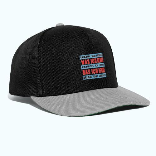 Think - Snapback Cap