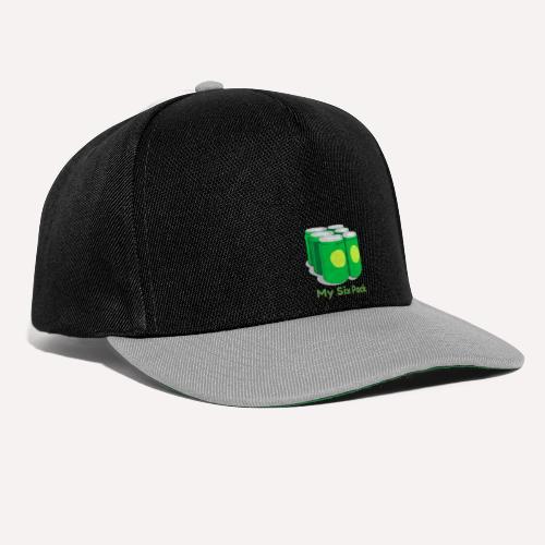 My Six Pack tshirt print - Snapback Cap