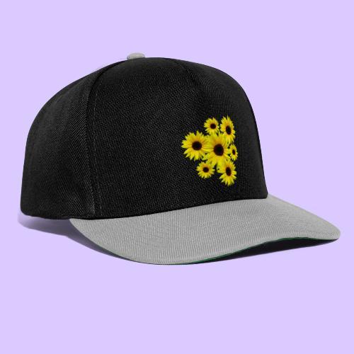 Sonnenblumenstrauß, Sonnenblumen, Blumen, Blüten - Snapback Cap