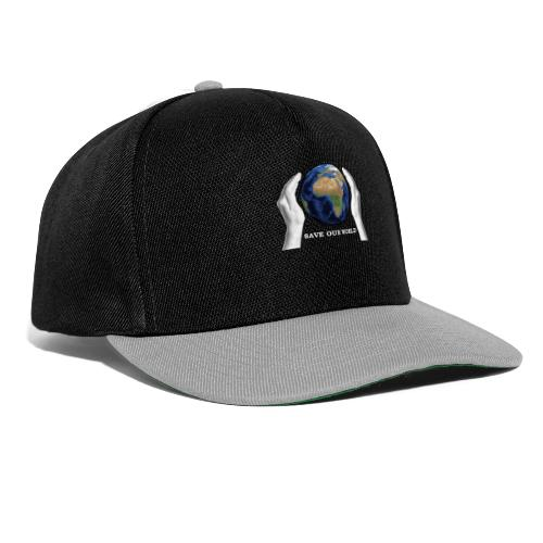 Save our world - Snapback Cap