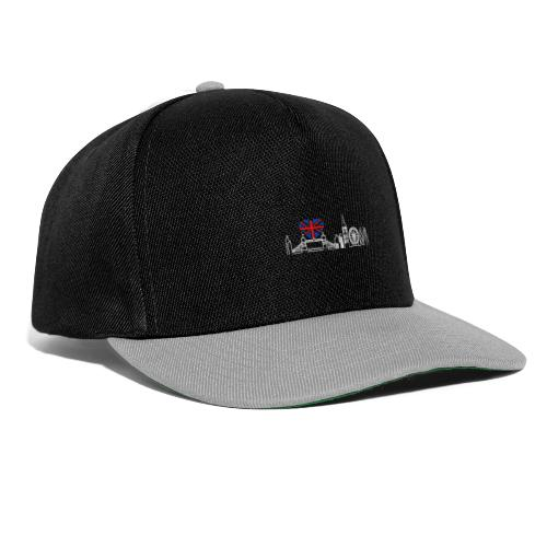 Cooles London Souvenir - Skyline mit Herz London - Snapback Cap