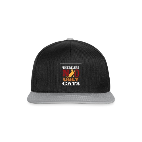 There Are No Ugly Cats - Snapback Cap