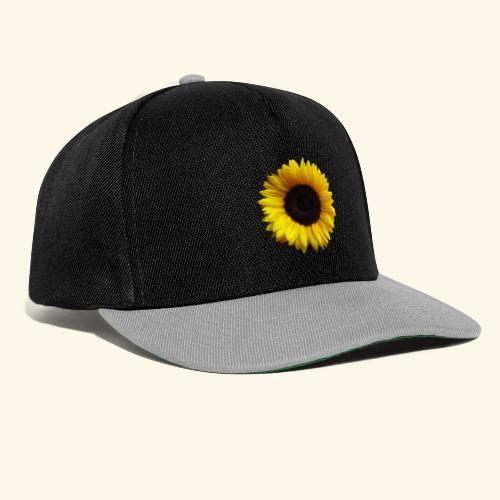 Sonnenblume, Sonnenblumen, Blume, Blüte, floral - Snapback Cap