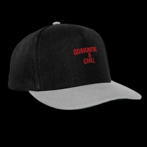 Quarantine & Chill Corona Virus COVID-19 - Snapback Cap