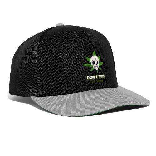 cannabis skull - Casquette snapback