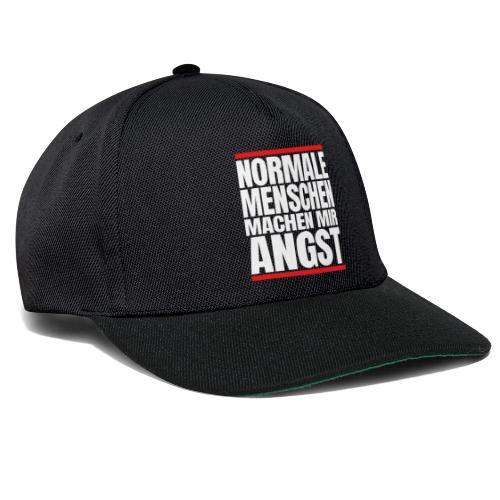 NORMALE Menschen machen mir ANGST - Snapback Cap
