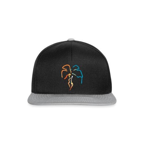 Farverig palme - Snapback Cap