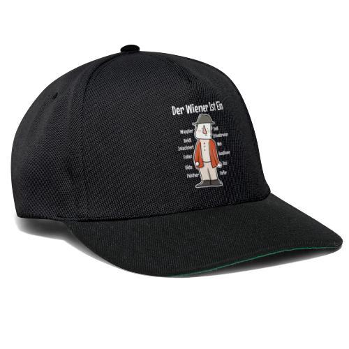 Der Wiener ist ein Geschenk für Wiener - Snapback Cap
