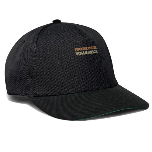 Projektleiter Bierdurst Baustellen Vollrausch - Snapback Cap