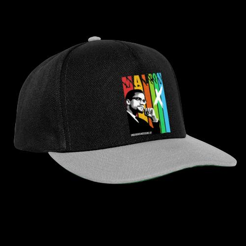 MALCOM X colourful - Snapback Cap