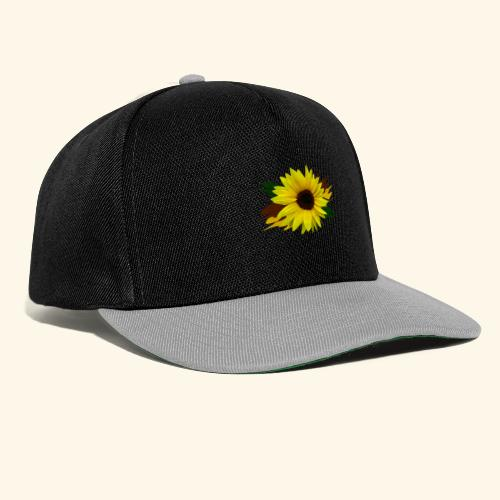 Sonnenblume, Sonnenblumen, Blume, floral, blumig - Snapback Cap