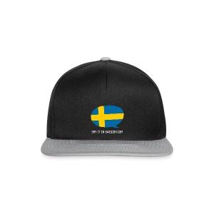 Say It In Swedish - Snapback Cap