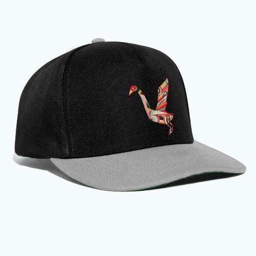 Origami bird Japanese - Snapback Cap