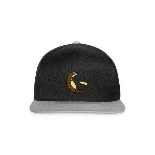 Song of the Paddle; Quentin classic pose - Snapback Cap