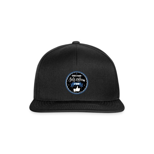 Trade self-esteem for likes - Snapback Cap