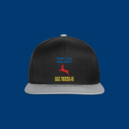 Dit is mien club! - Snapback cap