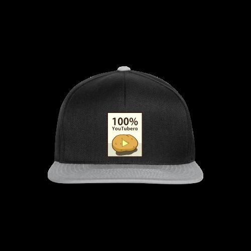 100-_youtubero - Snapback Cap