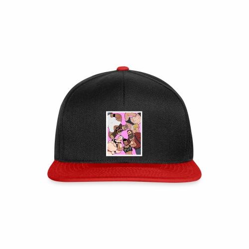 Bear Pile - Snapback Cap