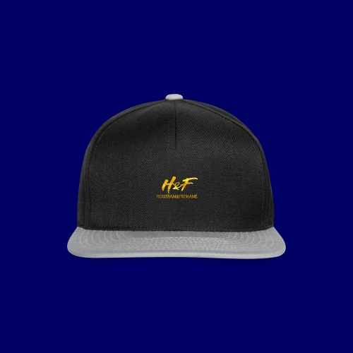 H&f gold logo - Snapback Cap