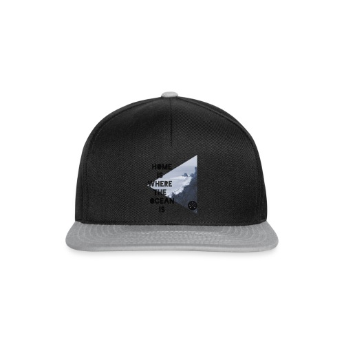 home is - Snapback Cap