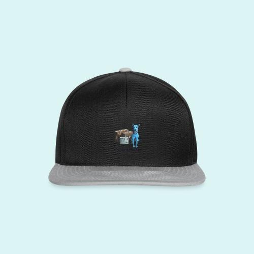 Laly Blue Big - Snapback Cap