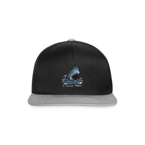 Der Hai, der Dich liebte - Snapback Cap
