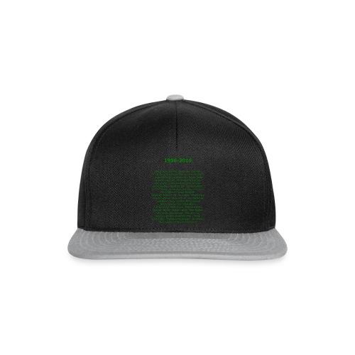 tekening4 - Snapback cap